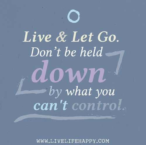 how to not let fear control your life