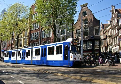 Tram in Amsterdam | by Peng.芃 ¤ 用双脚丈量世界