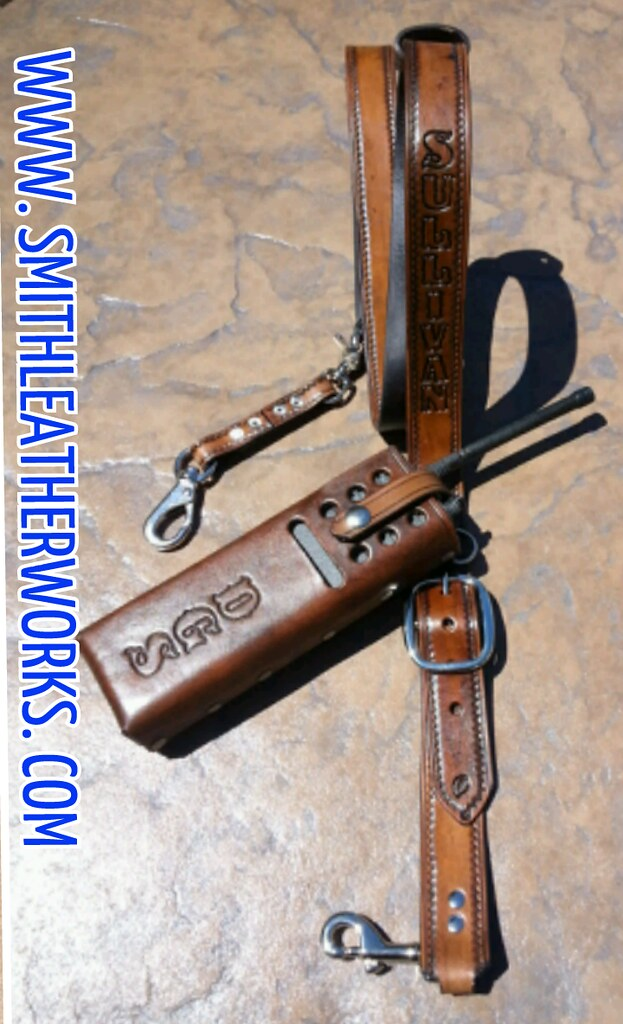 Leather Radio Strap Custom Made Straps And H. Leather Radio Strap By Smith Leatherworks. Wiring. Leather Harness Radio Holster At Scoala.co