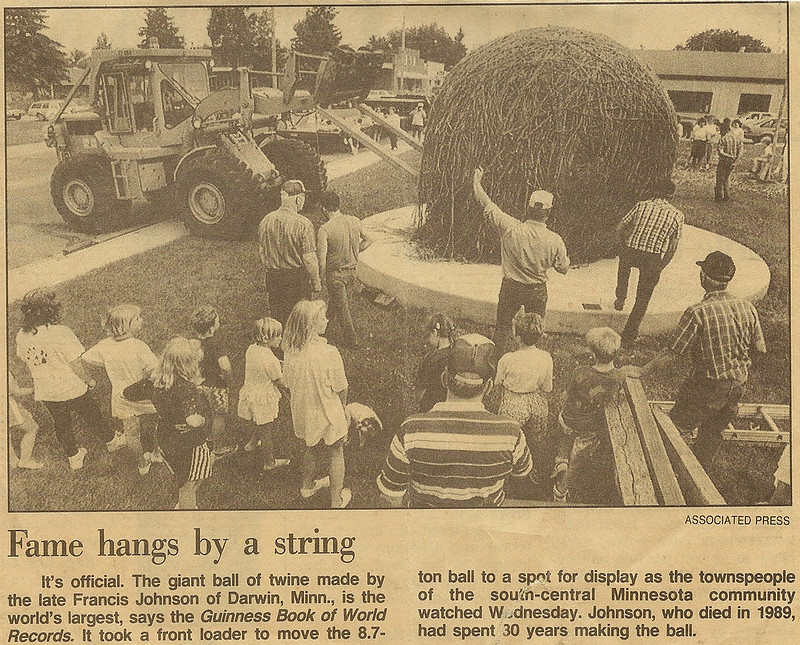 Twine Ball relocation