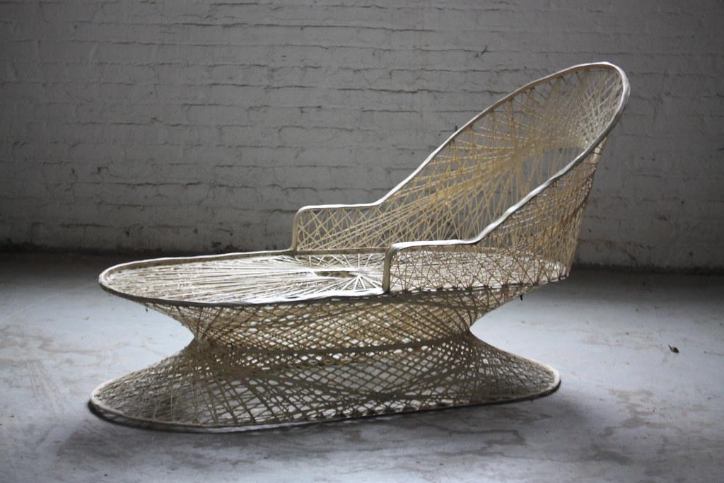 ... 1950s Remarkable Russell Woodard Mid Century Modern Spun Fiberglass Outdoor  Patio Furniture Set (U.S.A., 1950s