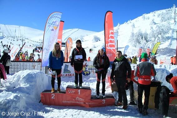 Campeonato Madrid Esquí de Montaña de Cronoescalada 2015