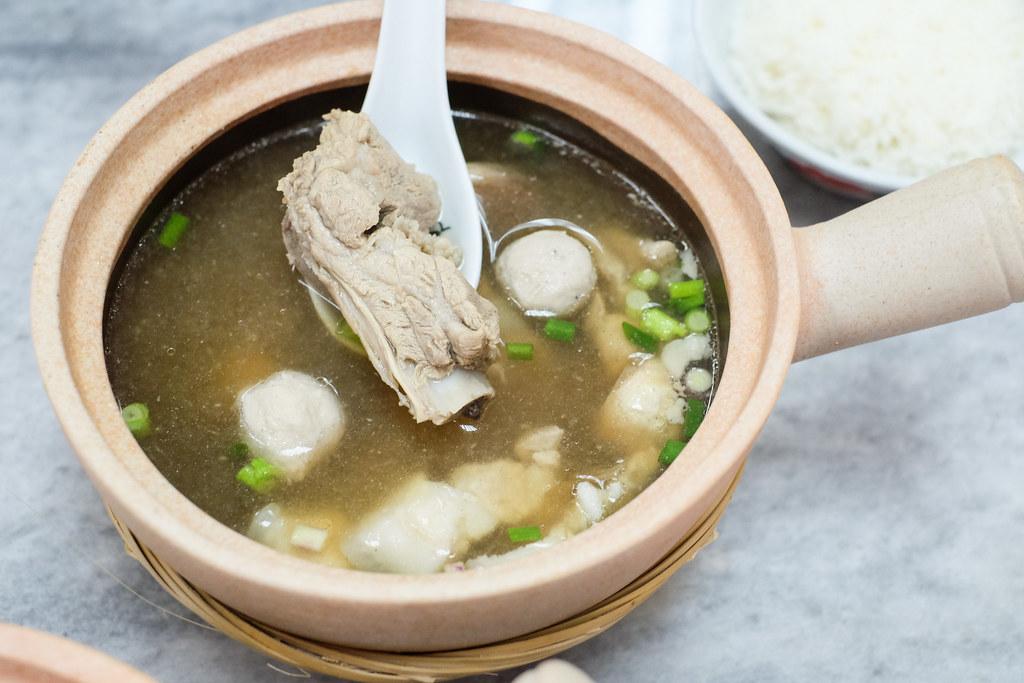 Rong Shu Xia Bak Kut Teh: Pork Rib Soup