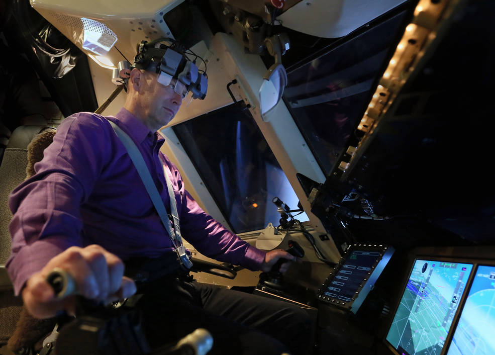 NASA Langley uses pilots..