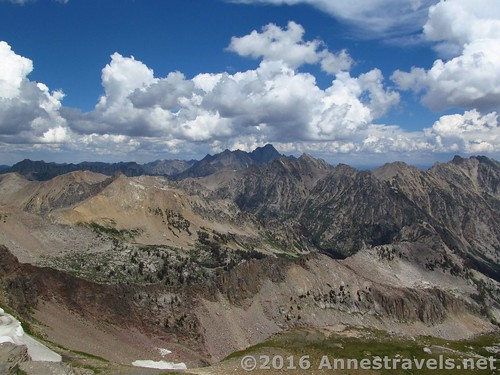 Views to the north from Table Mountain, Jedediah Smith Wilderness & Grand Teton National Park, Wyoming