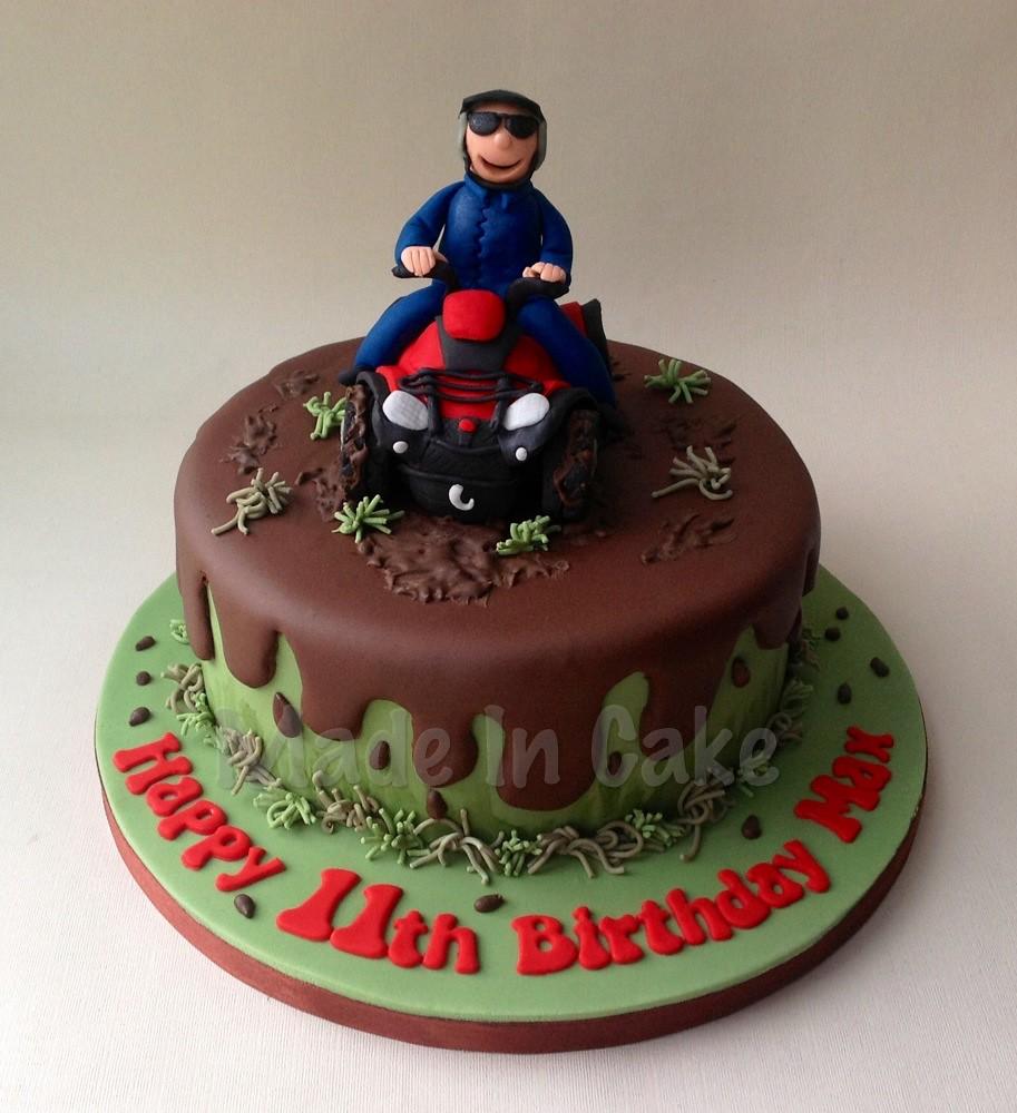 Quad Bike Cake June Lawson Flickr