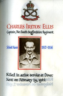Ellis, Charles Ireton (1919-1944) | by sherborneschoolarchives
