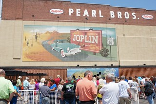Dedication for a new mural on Main street in Joplin, MO | by RoadTripMemories