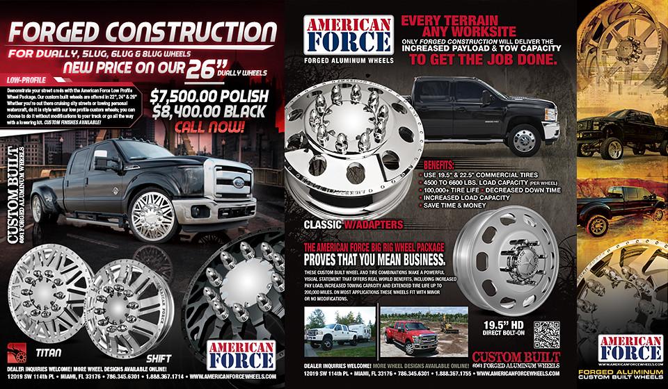 American Force Wheels - Magazine Ads | American ForceWheels | Flickr