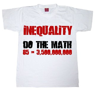 Inequality. Do the math: 85=3,500,000,000 | by Teacher Dude's BBQ