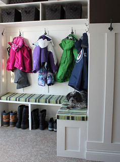 mudroom finished #mudroom #renovation | by duckyhouse