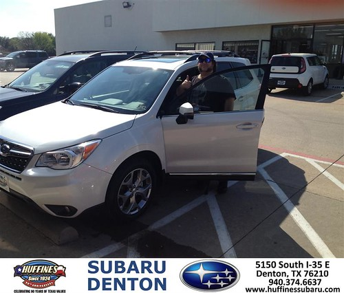 Congratulations To Terry Goosey On Your Subaru Forester