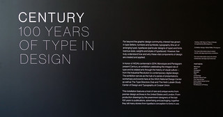 Preview of AIGA #Century 100 Years of Type & Design | by Michael Surtees