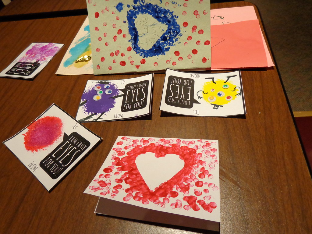Valentine Cards Craft Night Missouri River Regional Library
