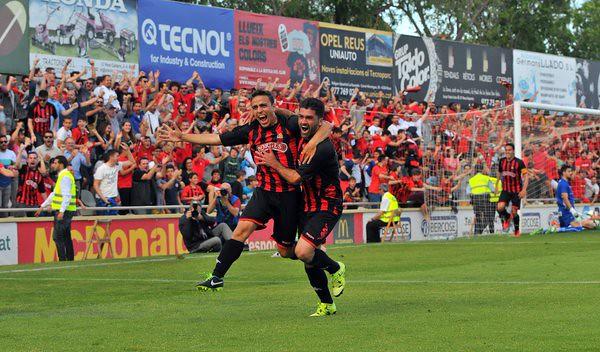 El CF Reus Deportiu asciende a la Liga Adelante
