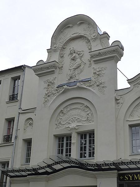 façade de l'élysée montmartre