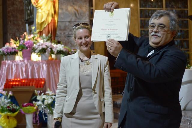 Mariagrazia Mazzaraco ed Antonio Tummolo