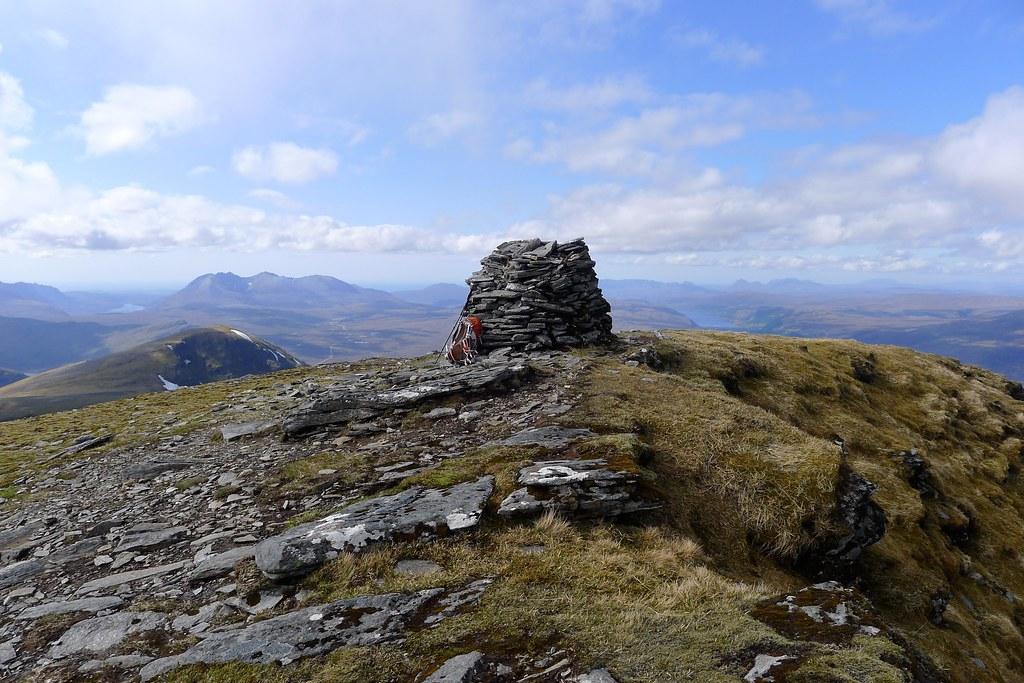Summit of Sgurr Mor