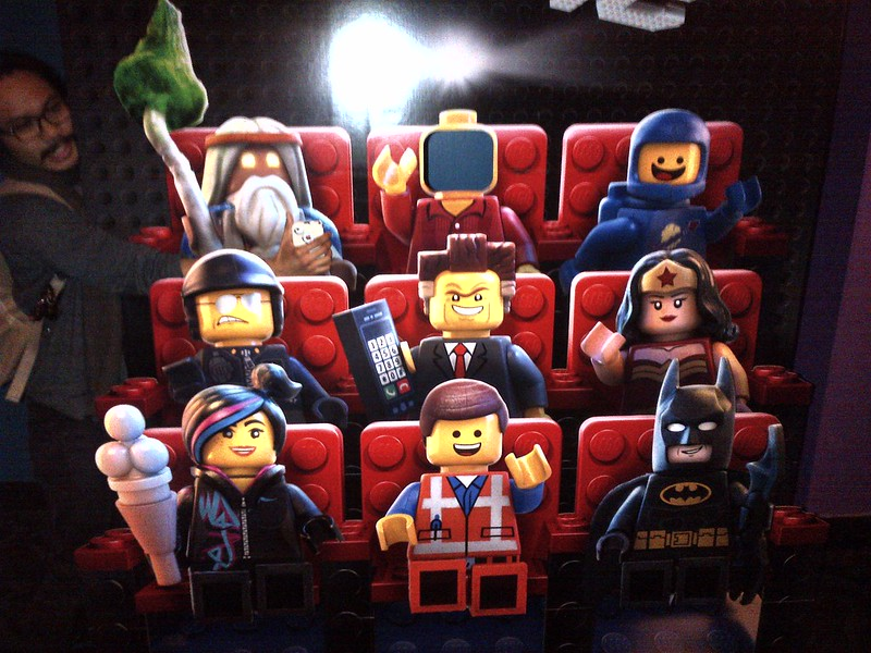 The LEGO Movie Cutout | Flickr