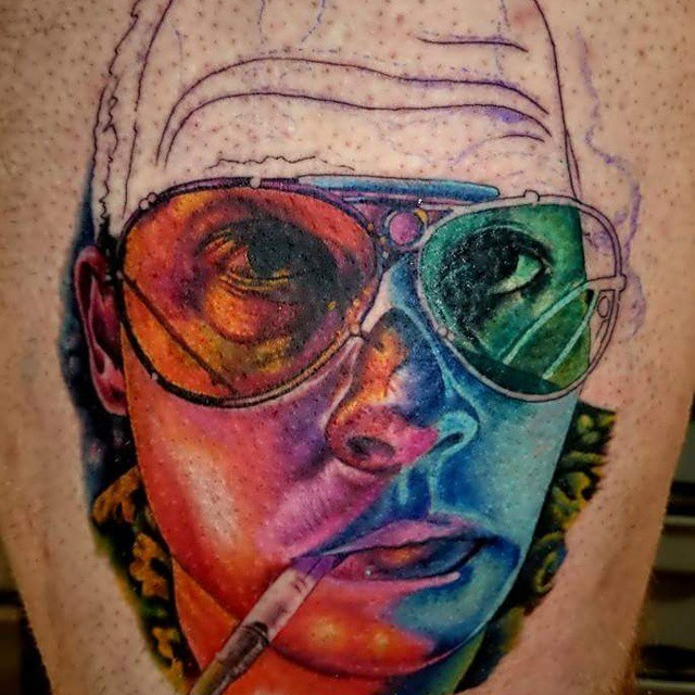 Fear And Loathing Las Vegas Tattoo Alexander King Flickr