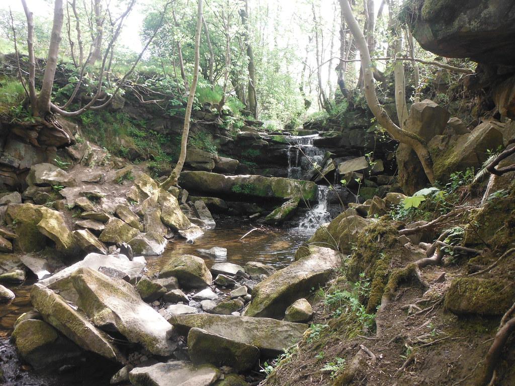 Earby Waterfall 2