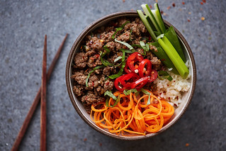 Grain-Free Thai Beef Bowls | by Tasty Yummies