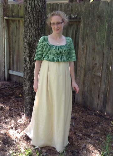 1800's Shortgown and Petticoat