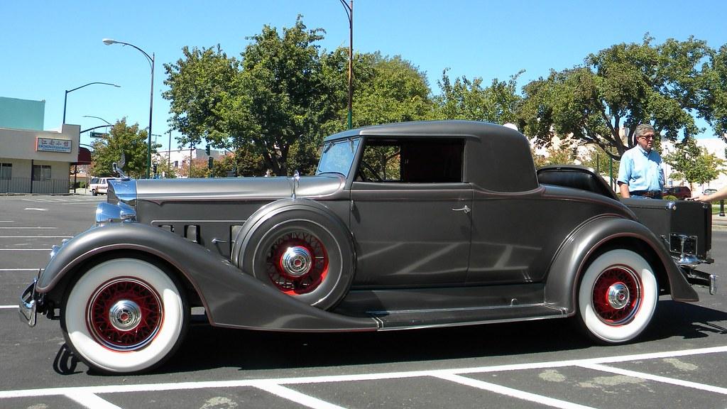 Countdown to Barrett-Jackson Scottsdale 2017: 1934 Packard Eight ...