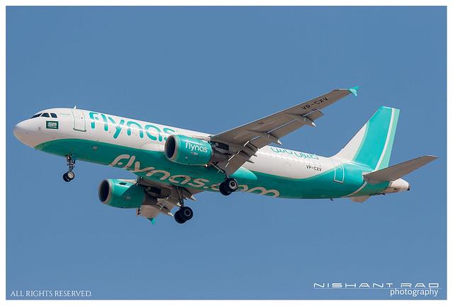 flynas Airbus 320-214 VP-CXV