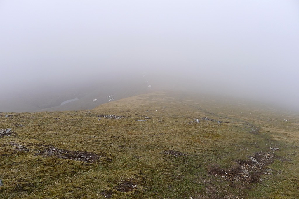 The murky path to Sgurr Mor