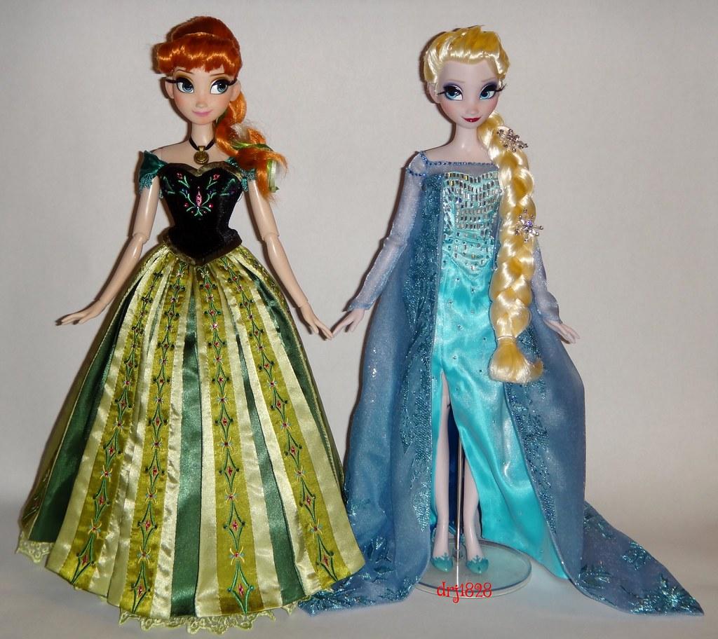 Disney frozen anna green dress