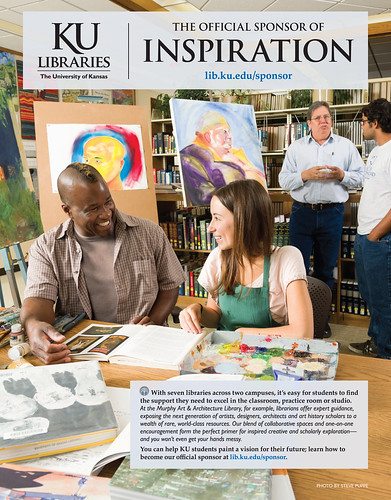 KU Libraries: the Official Sponsor of Inspiration | by KU Libraries