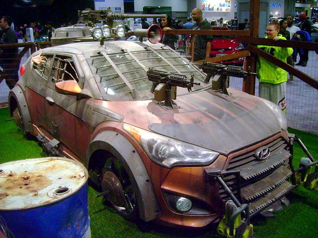 2013 Hyundai Veloster Turbo Zombie Survival Machine Flickr