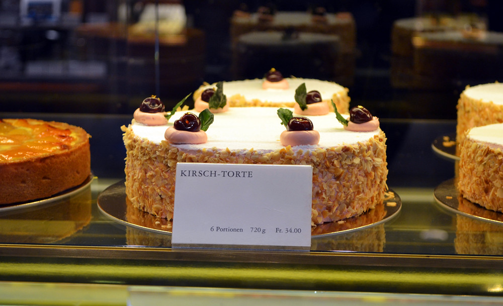 Kirsch Torte Zug Switzerland Famous Cake From Zug Made W Flickr
