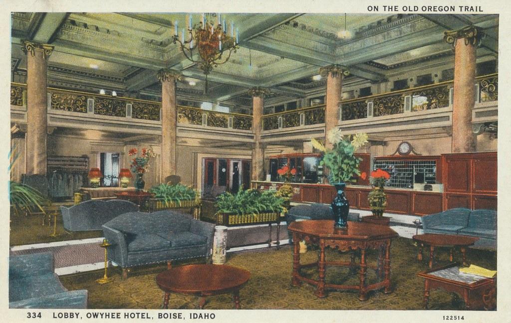 Owyhee Hotel - Boise, Idaho