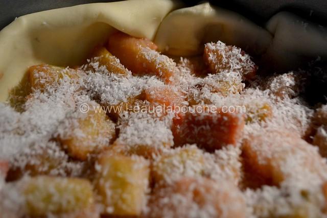 Tarte à la Rhubarbe au Fromage Blanc & Coco © Ana Luthi Tous droits réservés 16