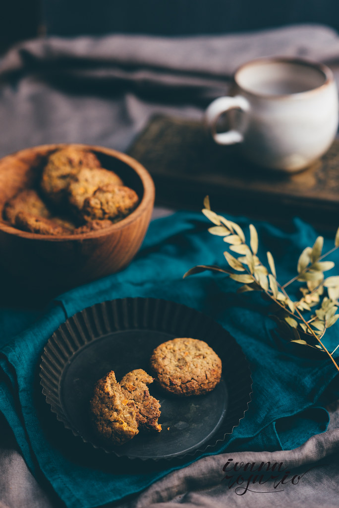 carrot cookies with buckwheat