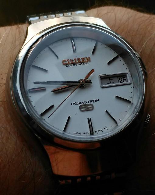 Electronic watches. 27290601464_71edcd36e0_z