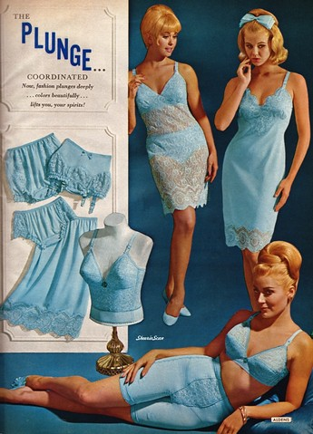 Matching Blue Daywear Aldens 1970 S Catalog Scan