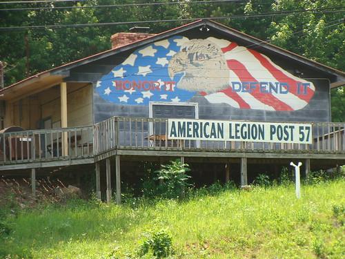 Wall mural american legion post 57 jacksonville al for Alabama wall mural