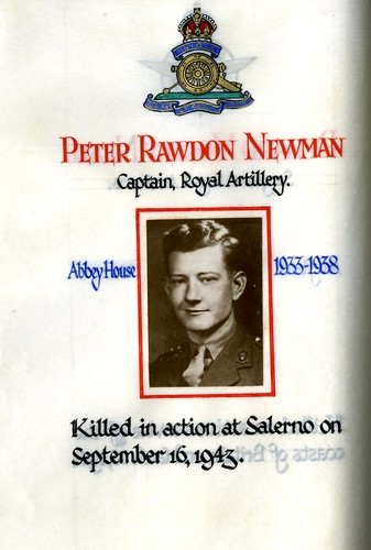 Newman, Peter Rawdon (1920-1943) | by sherborneschoolarchives