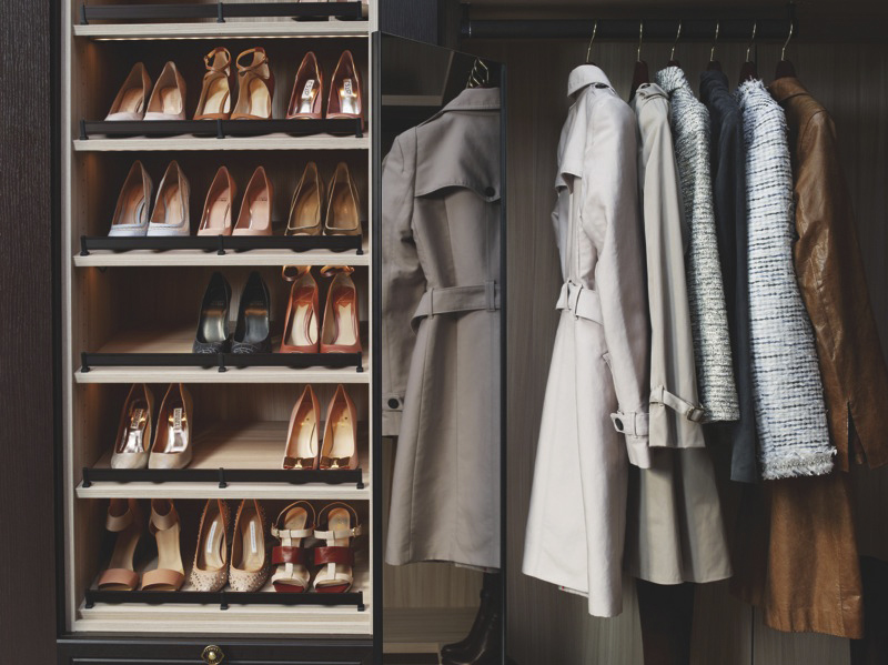 ... Master Luxe Walk In Closet With Pull Out Mirror | By CA Closets