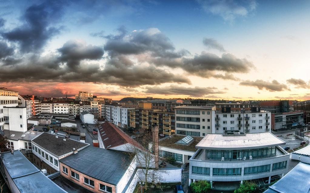 Saarbrucken Aussicht Von Meinem Balkon Saarbruecken Ist D Flickr