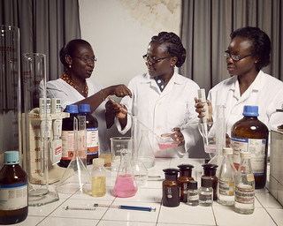 Professor Amivi Kafui Tete-Benissan teaches cell biology and biochemistry | by World Bank Photo Collection