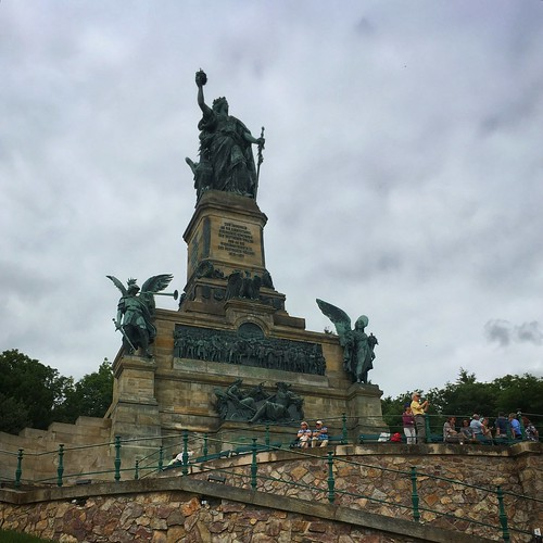 The Really Large Monument Near Rüdesheim