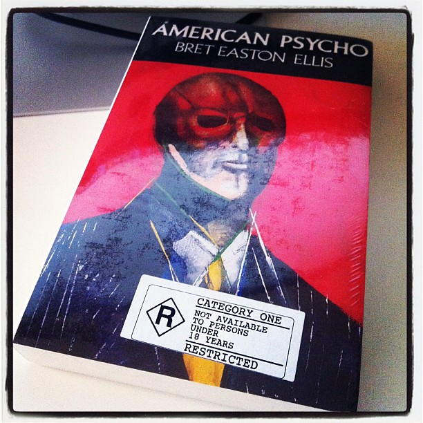 One of my copies of american psycho still in original pl flickr just found one of my copies of american psycho still in original plastic wrap just found reheart Image collections