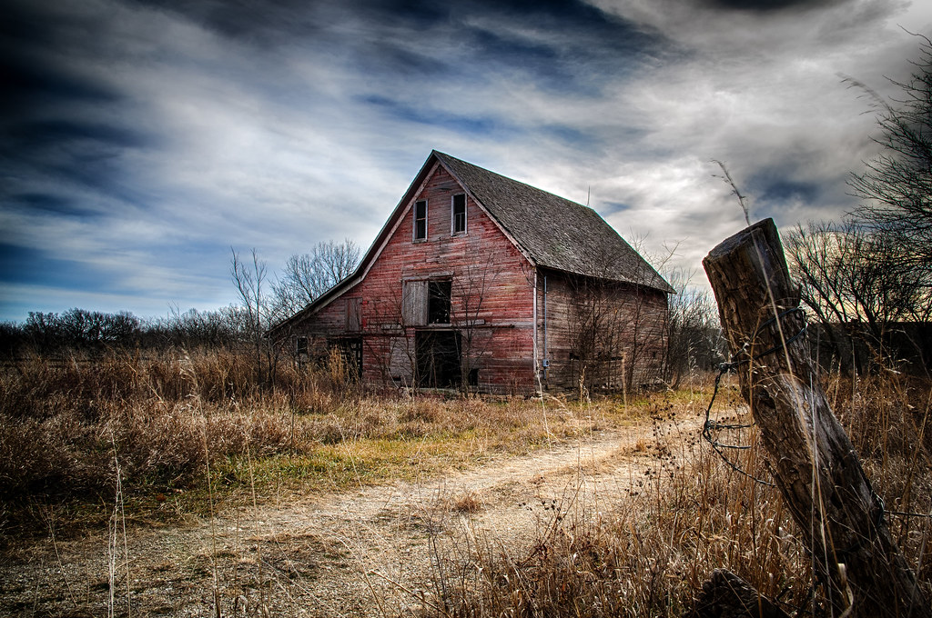 Image result for old red barn