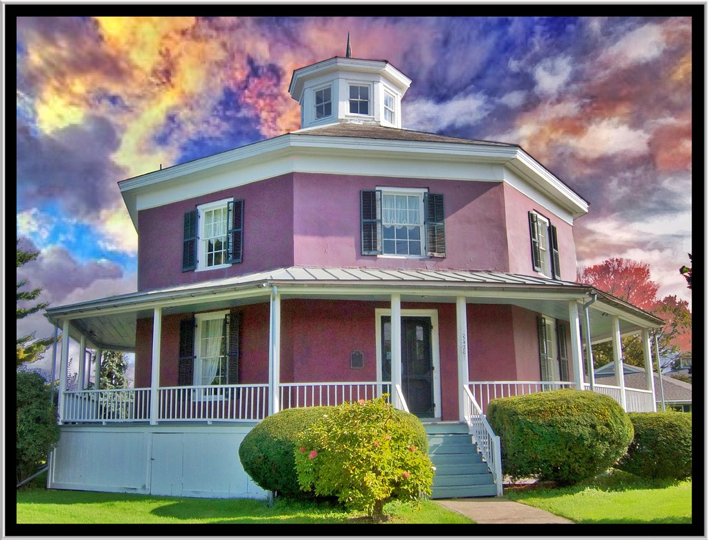 camillus new york wilcox octagon house 1856 historic flickr