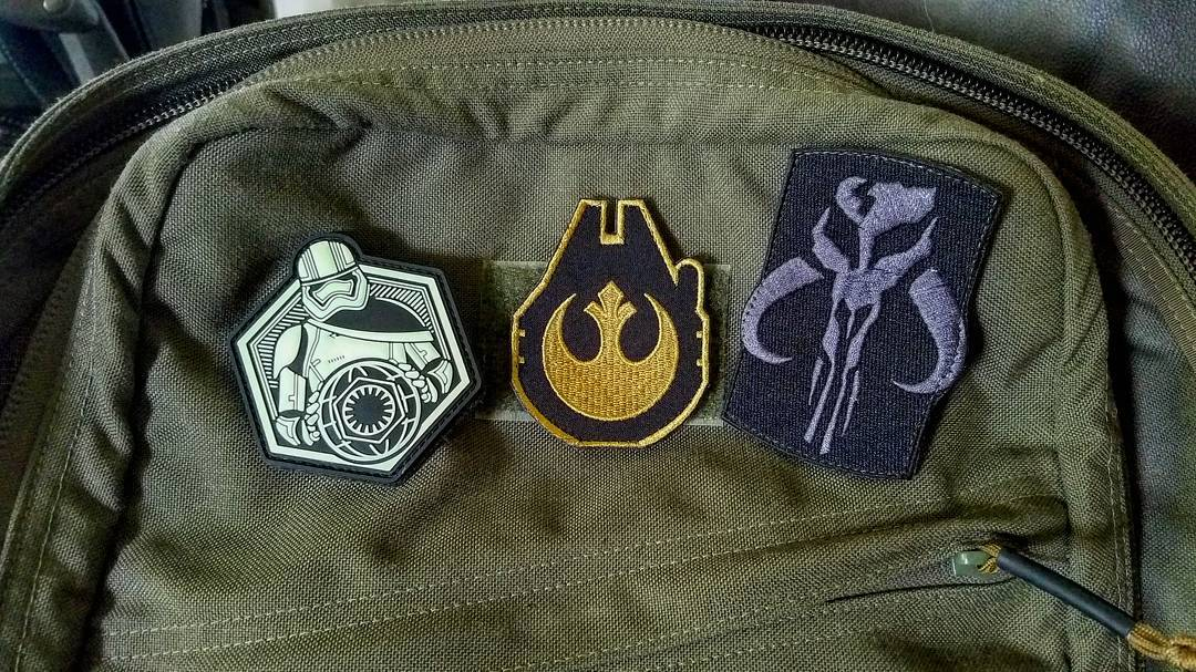 Thanks to Verizon I'm headed to London this week to attend, cover and share The Star Wars Celebration. This meant I had to get a Star Wars theme patch for my ruck during my travels. Which one do you think I should choose? Any friends in London and free t