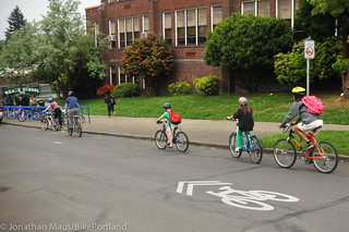Bike to School Day in NoPo-13